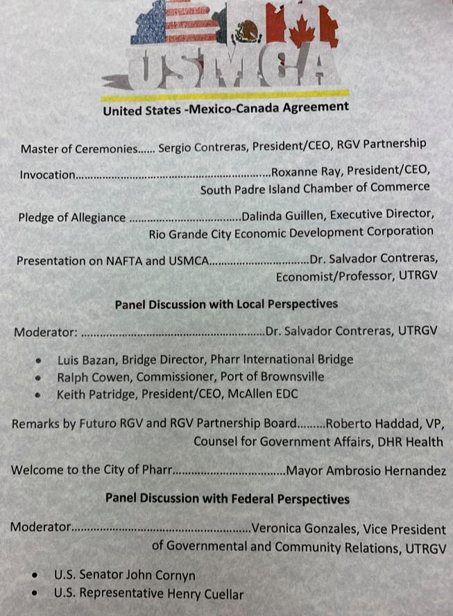 Texas lawmakers optimistic USMCA will pass Congress during