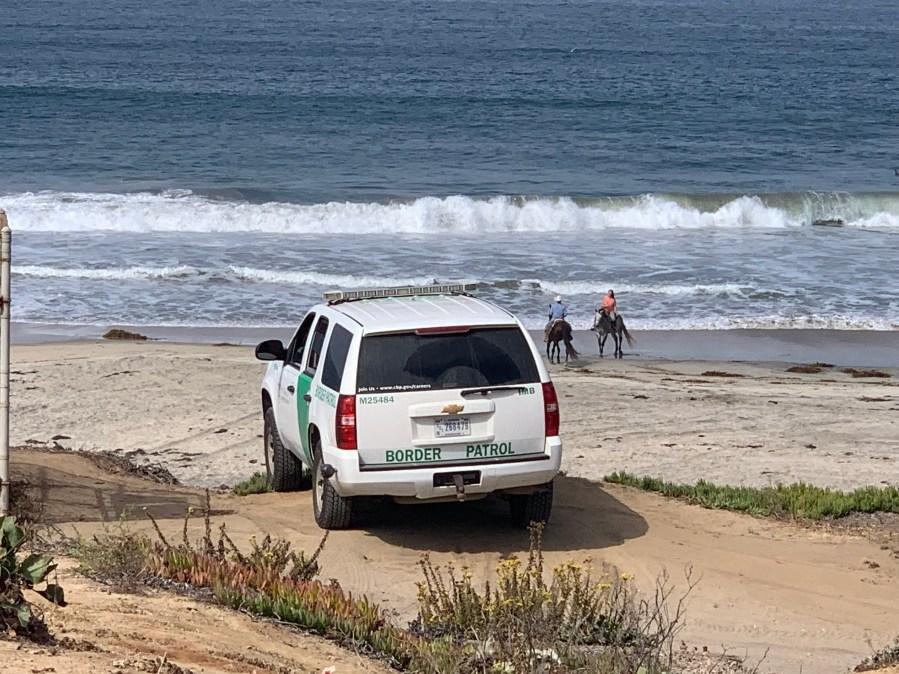 PHOTOS: Border Patrol agents showcase border wall in California