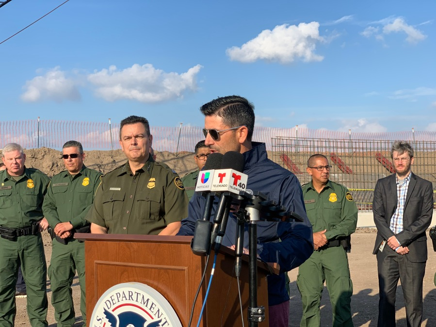'Walls work,' declares DHS head during visit to South Texas border