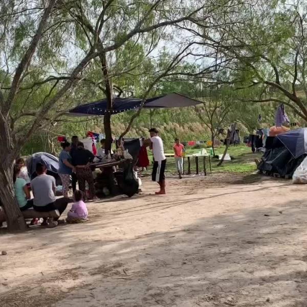 Matamoros tent encampment