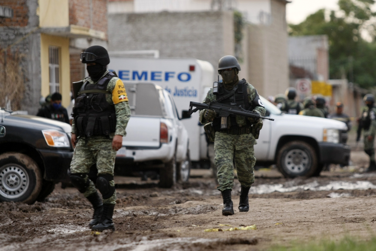 Body count from drug cartel wars earns Mexican cities label of 'most violent in the world'