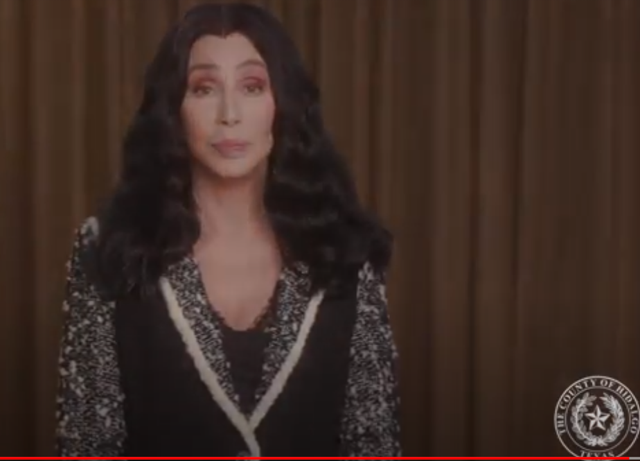 Cher tapes emotional PSA for South Texas county ravaged by COVID-19 after her concert