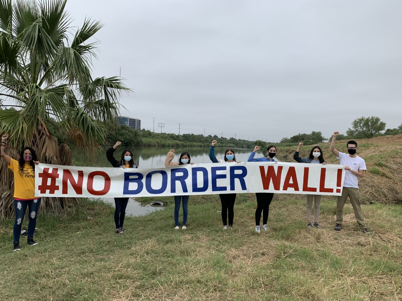 Laredoans express support and opposition to proposed border wall ahead of election