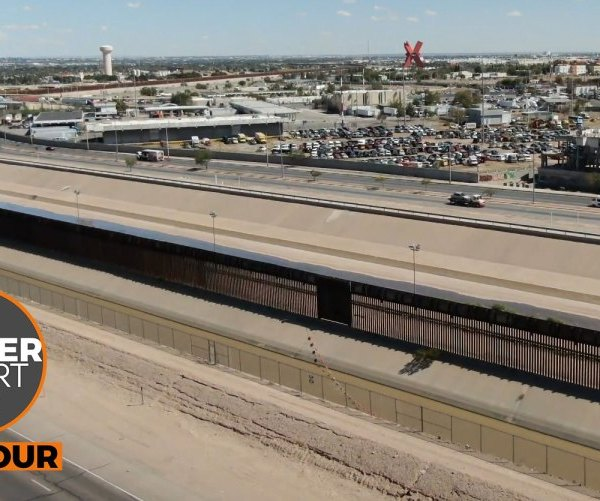 Image from the 2019 Border Report tour as it headed through El Paso (Border Report Photo)