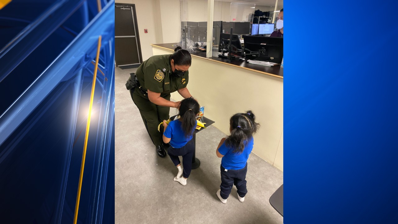 Toddlers abandoned by smugglers at border wall released from Border Patrol custody
